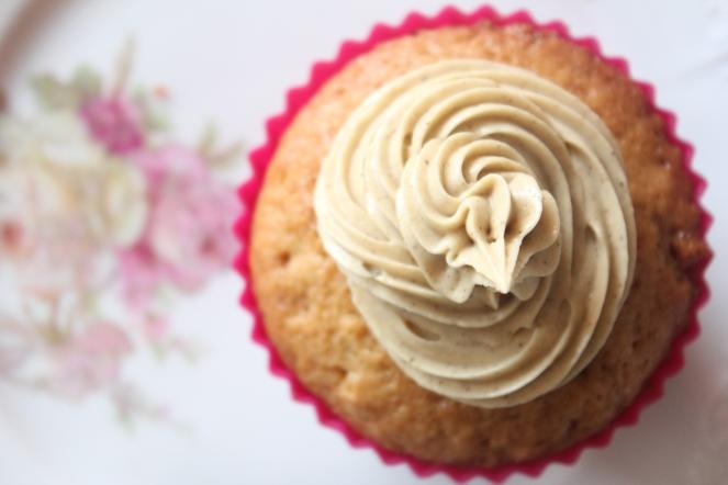 Lakkrís-cupcakes